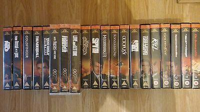 james bond 007 Collection of vhs/pal videos x 20