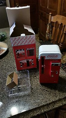 Coca Cola Vending Machine Metal Collectible Bank,1994 in the box  FREE  SHIPPING