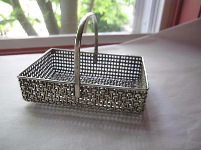Antique Sterling Silver Basket Frank M Whiting 4337 102 grams