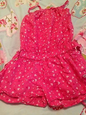 Girls Play suit Age 5-6 Years