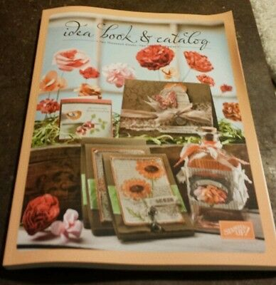 2011 - 2012 Stampin Up Idea Book and Catalog
