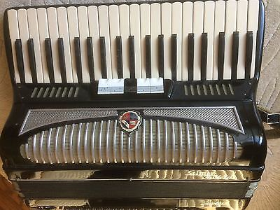 Selmer Scotia 120 Bass Accordion with case- Collection only. Northants ENGLAND