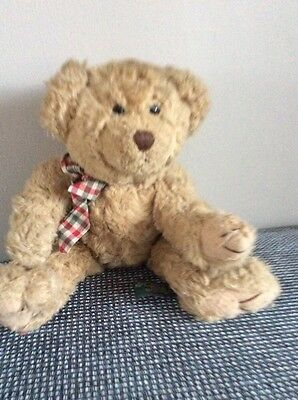 "Vintage Russ Berrie 12"" Teddy Bear Named Browning With Moveable Arms & Legs"