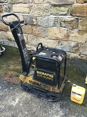 Bomag Compactor  Wacker  Plate