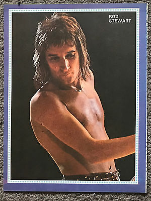ROD STEWART - 1977 full page UK magazine poster