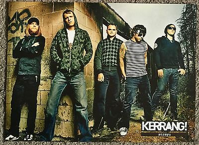ATREYU 2007 Full page UK magazine poster