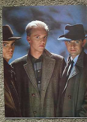 HEAVEN 17 - 1984 Full page magazine poster