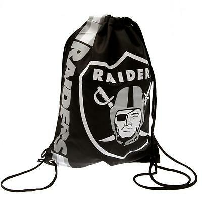 Oakland Raiders Gym Bag (Official Merchandise)