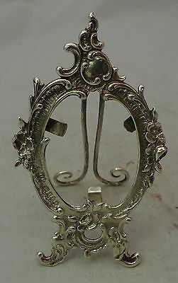 Victorian Silver Photo Frame David Bridge London 1894 8.6cm x 5cm A602017