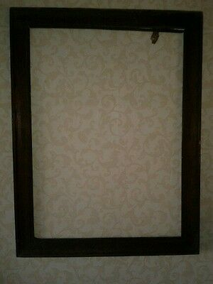 """Antique Wooden Picture Frame  25"""" X 19 1/2"""""""