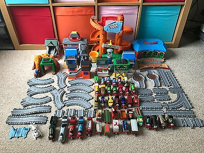 Thomas the Tank Engine And Friends - Take n Play Track + Trains + Accessories