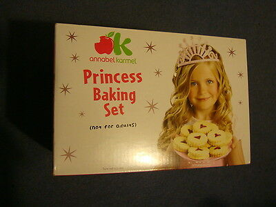 Annabel Karmel Princess Baking Set Children cooking cookie cutter kids Girl baby