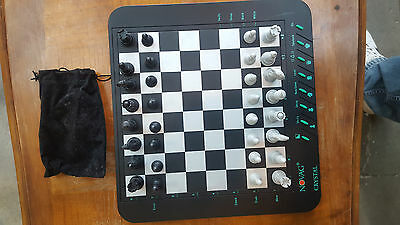 NOVAG CRYSTAL MAGNETIque VINTAGE - Computer chess Magnetic- TBE- Good conditions