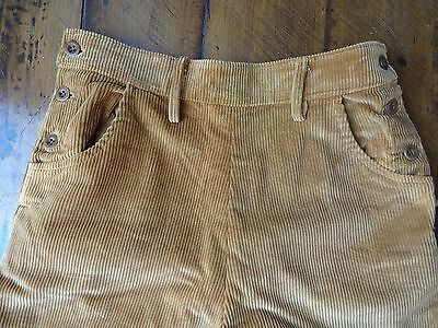 Ww2 Land Girl Cord Breeches Wla Jodhpurs Waist:15 Inches