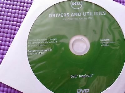 Dell Inspiron 3420 3450Drivers and Utilities restore disc P/N HTM6T