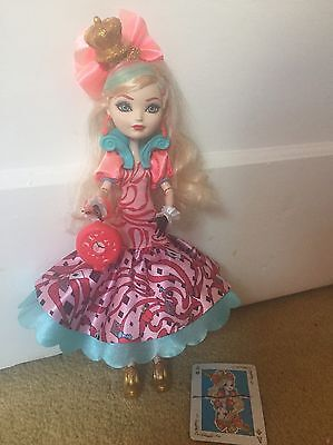 Ever After High Doll: Apple White - Way To Wonderland