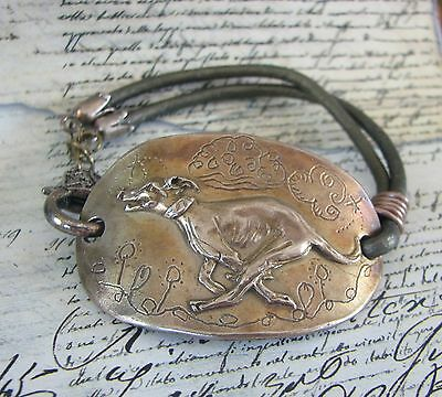 Greyhound Italian Greyhound Or Whippet Bracelet By Dianne Kresevich