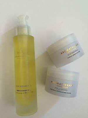 Aromatherapy Associates nourishing body kit New!
