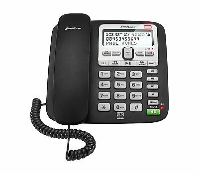 New Binatone Acura 3000 Single Corded Phone With Call Blocker & Answer Machine