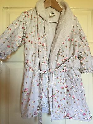 Baby Dior Very Cute Flower Dressing Gown