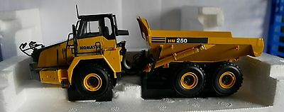 UNIVERSAL HOBBIES UH8035U KOMATSU HM250 DUMP TRUCK 1:50 SCALE BOXED Pre-Owned