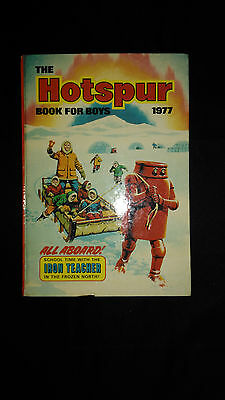 The Hotspur Book For Boys 1977 Vintage Adventure/Action Annual