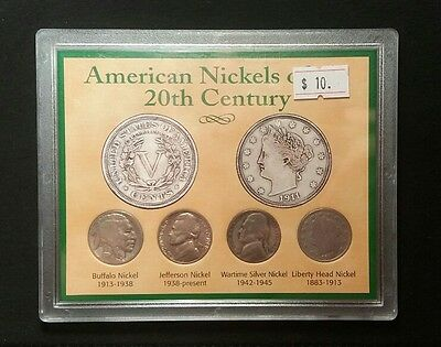 American nickels of the 20th century Very Nice Coins Great Condition