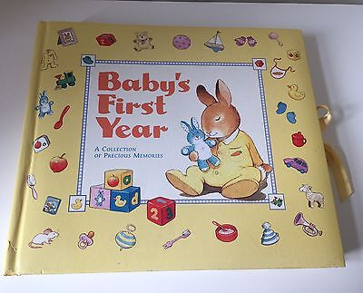 Baby First Year Memory Book / Photo Album / Baby Record Book.