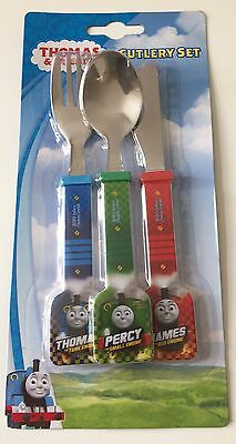 Thomas & Friends Cutlery Set - Toddler & Children Stainless Steel Meal Set