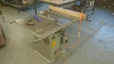 "Wadkin 10"" AGS table saw"