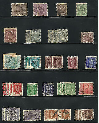 India 1911-47  Stock 70 Stamps   Used