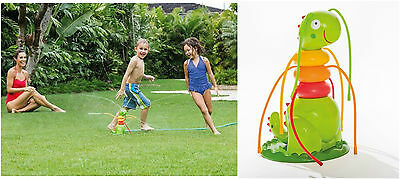 Kids Water Sprinkler Garden Spray Hose Shoots Water Children Play Outdoor Toy