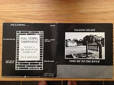 "Talking Heads - Take Me To The River Double 7 "" Singles"