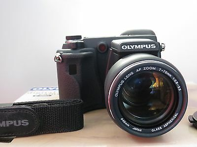 Olympus E-100 RS Digital Camera Bundle with everything include- L@@K!