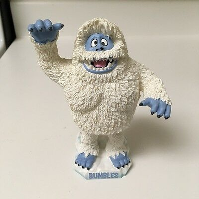 Bumbles the abominable snowman bobblehead rudolph the rednose reindeer