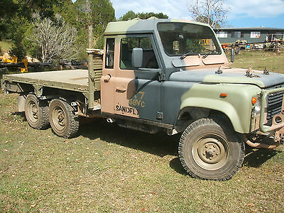 land rover 6x6 perentie 110 defender tray back