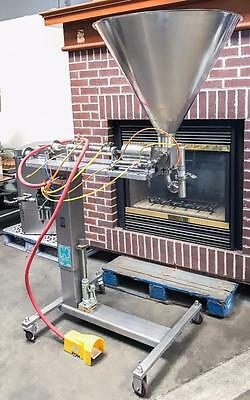 Hinds-Bock Sp-64 Bakery Equipment Air Powered Single Piston Depositor Filler