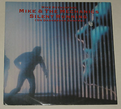 "MIKE & THE MECHANICS 12"" SILENT RUNNING VG 1985 M RUTHERFORD ex GENESIS U8908T"