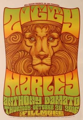 ZIGGY MARLEY Fillmore Concert Poster Rare and Collectable