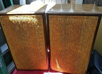 Vintage AR-1 AR1 Acoustic Research Speakers Tested Pair Free Shipping
