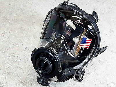 Mestel Safety SGE-400-3-NBC 40mm NATO Tactical Gas Mask/Respirator S small USA