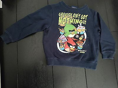 next angry birds boys size 4 jumper top