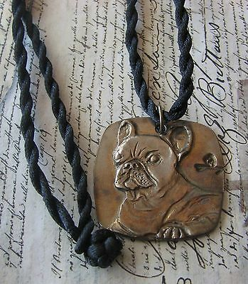 French Bulldog  Necklace  By Dianne Kresevich