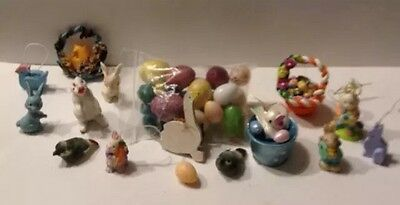 Easter Lot of 15 Doll House Dollhouse Miniature