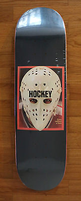Skateboard Deck Hockey Eyes Without a Face Metallic Navy