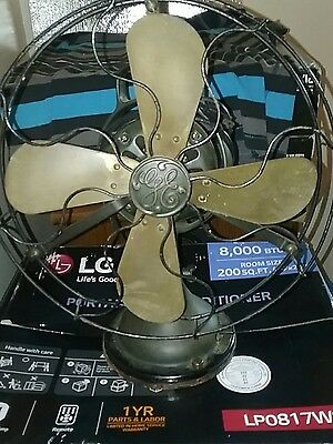Vintage Antique G.E. Fan