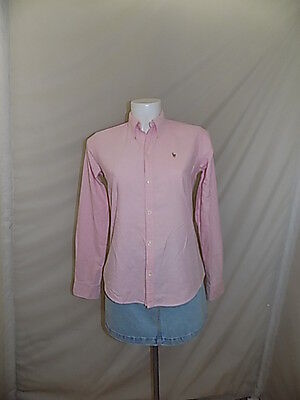 Ralph Lauren Camicia Donna Woman Shirt Camicetta Blouse 4 Casual T36