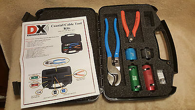 DX Engineering DXE-UT-KIT2 COAXIAL Coax CABLE TOOL KIT Shear Cutter Stripper Kit