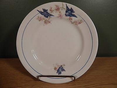 "Antique Blue Bird 7 1/2"" Plate"