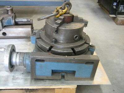 Rotary Chuck approx 300mm with approx 200mm 3 Jaw Chuck